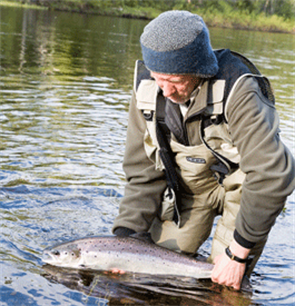 Anglers alert about lowest level on record of wild salmon catches in Scotland