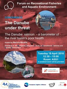 CONFERENCE: The Danube under threat. The Danube salmon - a barometer of the river basin's poor health