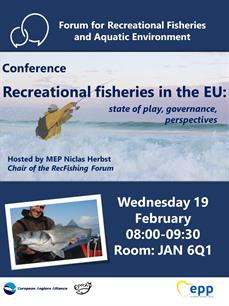 RecFishing Forum event - 'Recreational fisheries in the EU: state of play, governance, perspectives'